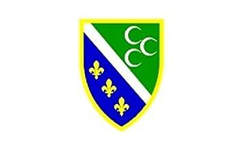 Aufkleber Island Flagge Fahne 12 x 8 cm Autoaufkleber Sticker
