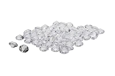 Acrylic Diamonds Gems Crystal Rocks for Vase Fillers, Party Table Scatter, Wedding, Photography, Party Decoration, Crafts by Royal Imports