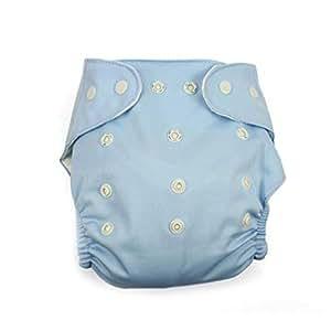Ruiboury Reutilizable Lavable Ajustable Un tamaño Bolsillo del bebé Pañales de Tela del pañal