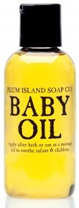 Plum Island Baby Oil - All Natural Baby Oil for Massage made in New England