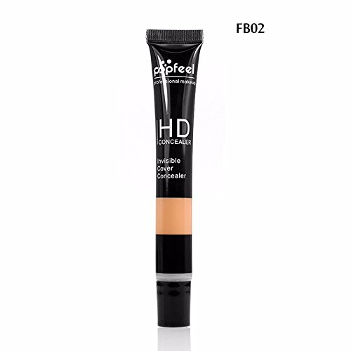 Popfeel Full Cover Primer HD Hose Concealer Cream Professional Face Eye Foundation Makeup Beauty Cosmetics New Brand Highlighter FB02