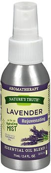 Nature's Truth Lavender Rejuvenating On the Go Hydrating Mist - 2.4 oz, Pack of 6 by Nature's Truth