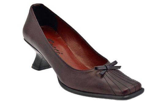 Bocci 1926 Bow T.40 Spool Court Shoe Is Pump New . Bordeaux jAfUS