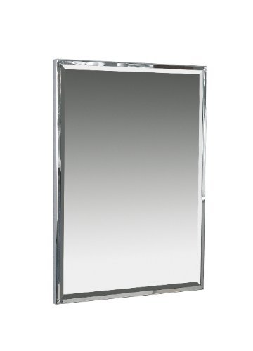 Hand Crafted Stainless Steel Framed 90cm X 60cm Rectangular Bathroom ...