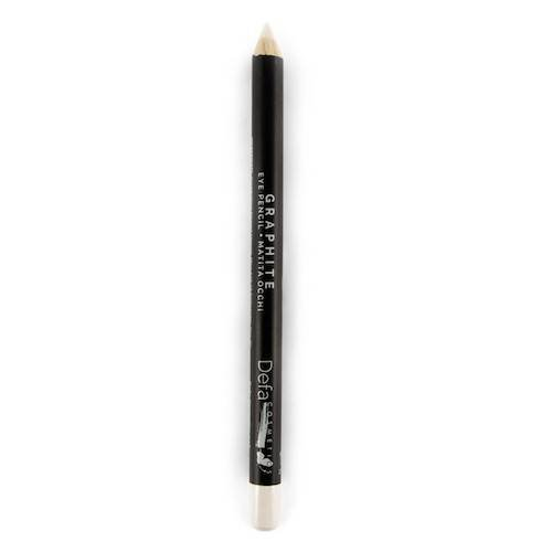 DEFA COSMETICS - Eye Pencil Savoia - Matt creamy white - Multifunction - Eye Shadow, Kajal and Eyeliner - Almond Oil, Sesame Oil and Vitamin E - Vegan and Cruelty Free (Kajal Pencil Mac)