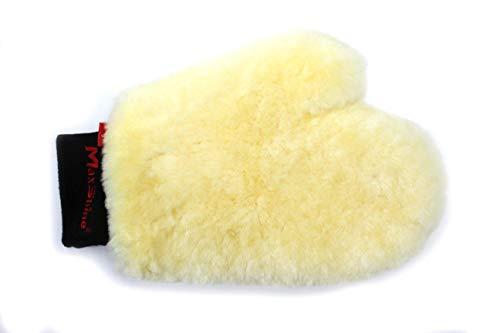 - Maxshine Premium Sheepskin Wool Wash Mitt for Car Detailing