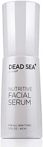 Dead Sea+ by AVANI Nutritive Facial Serum | Enriched with Dead Sea Minerals, Collagen, Hyaluronic Acid, Vitamin C | Reduces the Appearance of Wrinkles to Create a Flawless Complexion - 1.3 fl. oz.