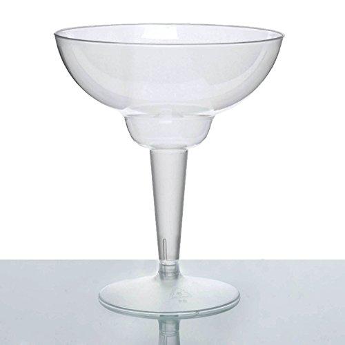 - BalsaCircle 30 pcs 12 oz Clear Plastic Margarita Glasses - Disposable Wedding Party Catering Tableware