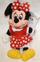 "Disney's Bean Bag Everyday Minnie Mouse 10"""
