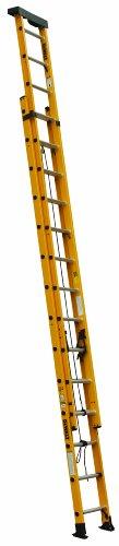DeWalt DXL3020-28PT 28-Feet Fiberglass Extension Ladder Type IA with 300-Pound Duty Rating, - 28 Ladders Fiberglass Feet