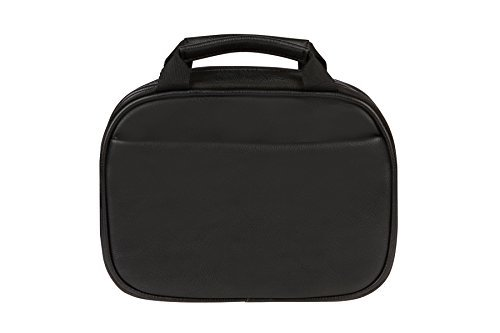 Myabetic Thompson Diabetes Travel Case For Glucose Monitoring Tools, Insulin Pens, Syringes, Etc Includes Insulation Lining - High Quality Materials (Black)