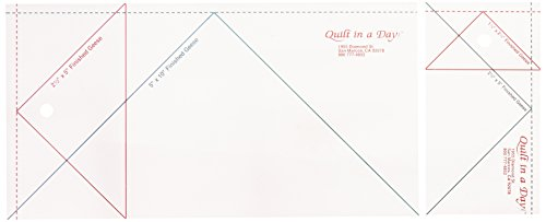(Quilt in a Day Jumbo Flying Geese Quilting Ruler 2 ruler set)