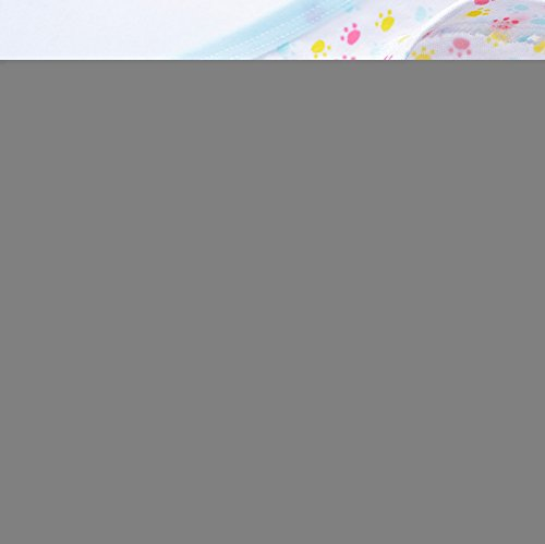 2-8 Years Girls Mini Footprint Boyshort Panties Toddler Puppy Underwear Full Coverage 4 Pack