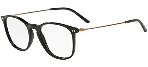 Occhiali da Vista Giorgio Armani AR 7160 BLACK uomo FZYbDPNvD