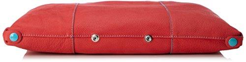 GabsG3 - Bolso de mano Mujer Rojo (Red)