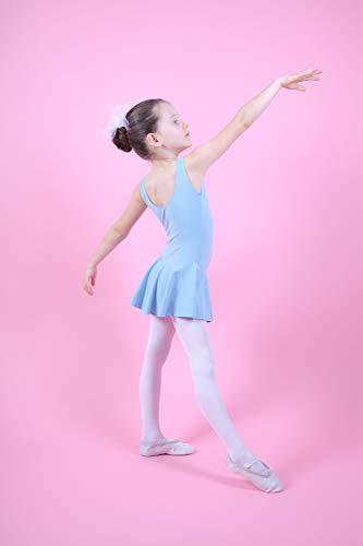 Maillot Para Niñas Lila Lavanda Sin Rosa Ballet 'nora' Tanzmuster Claro Claro En Con Borgoña Mangas Blanco De Marino Y Fucsia Faldita Negro Azul dzWc1gp