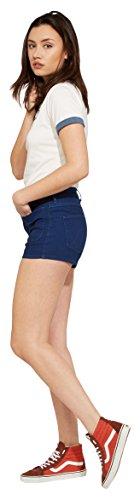 Donna Shirt Insignia Wrangler Tee T Retro Blue Blu Mr Kabel PUq1vX