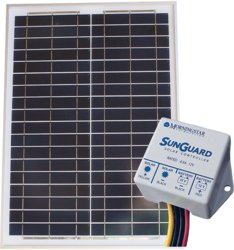 Off-grid Alte 20w Panel With Sunguard 4.5a Pwm Charge Controller Kit