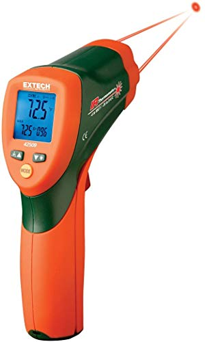 Extech 42509 Infrared Thermometer with Color Alert