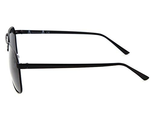 ProteccióN de Black Sol de Gafas Reflectante Gafas de Sol para Aviador Gafas de Sol Espejo Hombre Polarizadas de Lente UV Fascigirl xSawqFOW