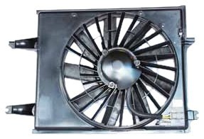 - TYC 620330 Nissan/Mercury Replacement Radiator/Condenser Cooling Fan Assembly