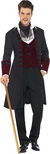 Smiffys-21323L Disfraz Fever de Vampiro gótico, con Abrigo ...