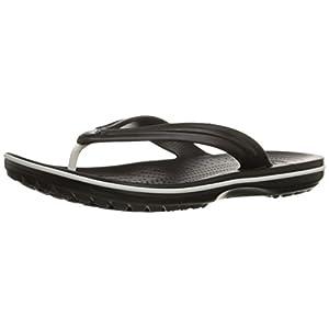 Crocs Men's and Women's Crocband Flip Flop Sandal, Casual Lightweight Beach or Shower Shoe