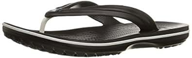 crocs Unisex Crocband Flip-Flop,Black,6 B(M) US Women / 4 D(M) US Men