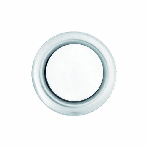 Heath Zenith SL-604-02 Wired Replacement Button, Silver Rim with Lighted Pearl Center