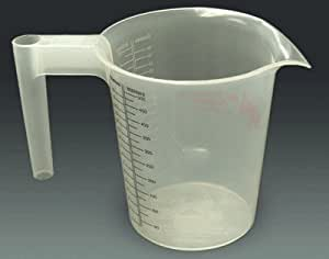Poly Measuring Pitchers by Red Rooster - POLY MEASURING PITCHER - 1 PINT