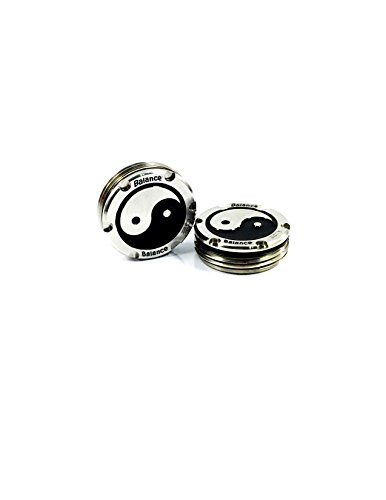Deluxe Parsaver Putter Weights - Ying Yang Design - 20g F...