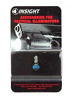 X-Series Replacement 6V Bulb, Blue