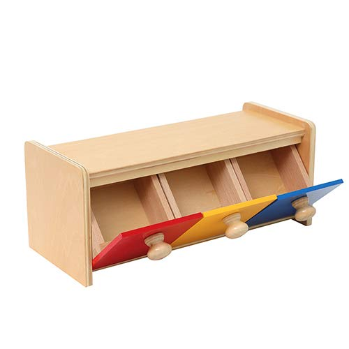 LEADER JOY Montessori Materials Box Bins Toddler for 1-3 Years Old
