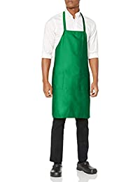 Uncommon Threads Womens Bib Apron 3 Pkts Uniform Apron