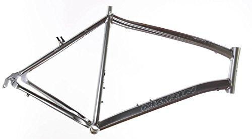 "19"" MARIN LUCAS VALLEY ALP Road Commuter Bike Frame Alloy E3 Silver 700c NOS NEW"