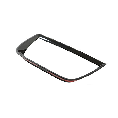 Rear Trunk Tail Light Bezel Trim Flat Black