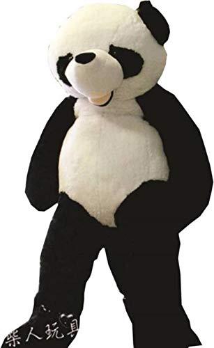 AVS 5 Feet Stuffed Spongy Hugable Cute Smile Panda Teddy Bear  Black/White    152 cm