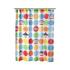 Monkeys and Pirates Julius Paul Frank Shower Curtain for Children's Bathroom - 72