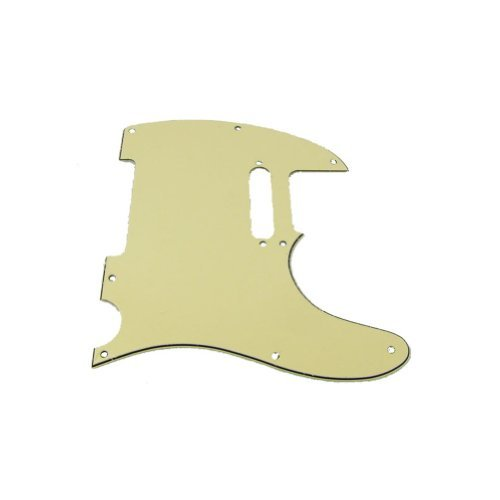 Tele Style Pickguard (Musiclily 3Ply Pickguard for Tele Style Guitar, Cream)