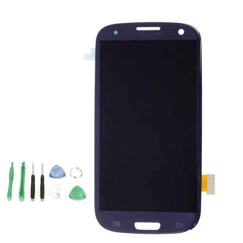 Touch Screen Digitizer LCD Display Assembly for SamSung Galaxy S3 III i9300 Blue