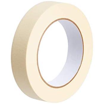 Amazon Basics Masking Tape - 0.95 Inch x 180 Feet, 6 Rolls