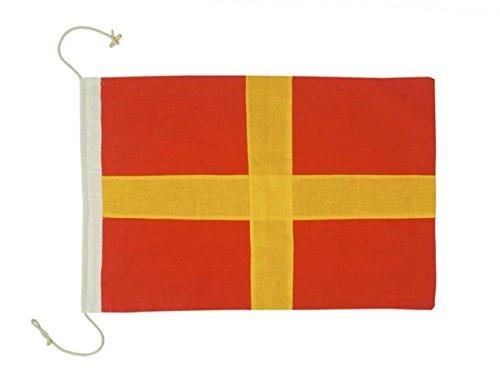(Hampton Nautical Letter R Nautical Cloth Alphabet Flag)