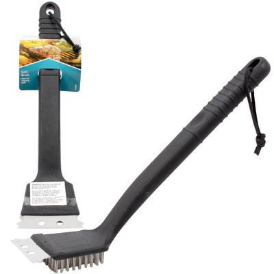 New 204600 Smart Living Grill Brush - 9''H (24-Pack) Kitchen Tools Cheap Wholesale Discount Bulk Kitchenware Kitchen Tools