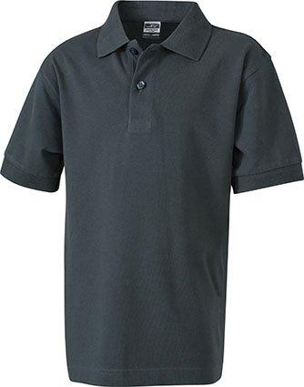 Klassisches Hochwertiges Polohemd (S - 3XL) M,Graphite