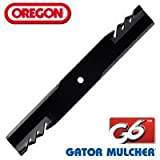 Oregon 396-740 Dixie Chopper Gator Mulcher G6 Blade Replacement lawnmower blade 20-1/2""