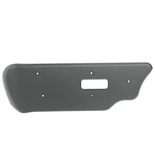 - Power Seat Adjuster Switch Trim Bezel Panel for GM Vehicles - Replaces OEM Part 88941674 - Front Left Driver Side - Gray