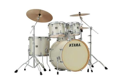 Tama Superstar Classic 5-Piece Shell Pack with 22 in. Bass Drum Satin Arctic Pearl