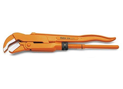 Beta 374 550 Rohrzange, schwedisches Muster, 45 Grad Slim Kiefer, 60 mm, 14 mm Stärke, 550 mm Länge B01N5JHU3X   Hochwertig