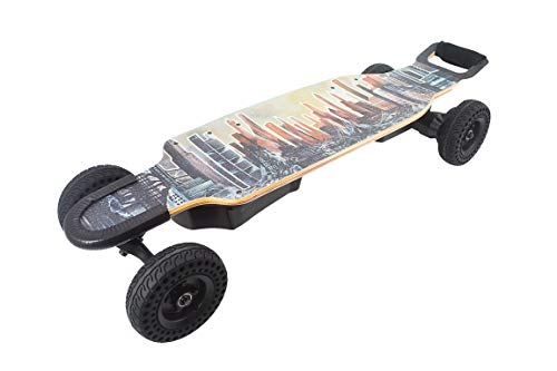 Chargiot Bomb PEV - 2400W Dual Belt Drive All-Terrain Electric Longboard Skateboard
