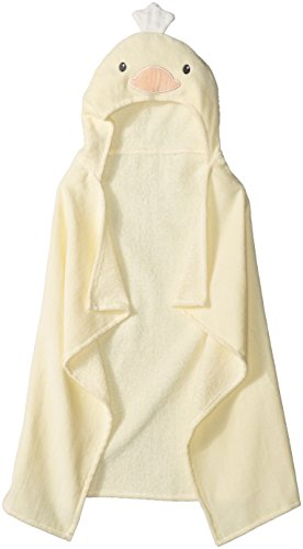 Quiltex Baby Bath Wrap, Yellow, One Size